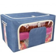 FLYLEAF Garment cover Living Box - Storage Boxes for Clothes, Blanket Cover Storage 756(Blue)