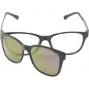 FIZAN Cat-eye Sunglasses(Clear, Pink)