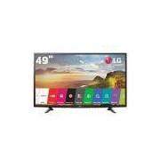 Smart TV LED 49 Full HD LG 49LH5700 com Painel IPS, Wi-Fi, Miracast, WiDi, Entradas HDMI e Entrada USB