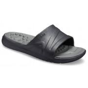 Crocs Reviva™ Slides Unisex Black/Slate Grey 41