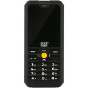 "Telefon Mobil CAT B30, TFT 2"", Bluetooth, 3G, Dual Sim, Rezistent la apa si praf (Negru) + Cartela SIM Orange PrePay, 6 euro credit, 6 GB internet 4G, 2,000 minute nationale si internationale fix sau SMS nationale din care 300 minute/SMS internationale mo"