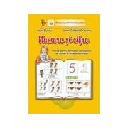 Numere si cifre-planse pentru formarea numerelor si invatarea cifrelor- set 11 planse, A4.