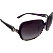 Els Oval Sunglasses(Violet)