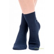 Brigona Komfort gumi nélküli zokni 5 pár - kék 41-42