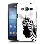 Husa Samsung Galaxy Core 4G LTE G386F Silicon Gel Tpu Model Zebra Desenata