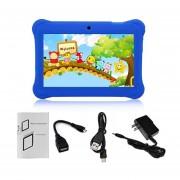 Q88 Niños Tablet De 7 Pulgadas, 512 MB De +8GB US Plug Kids Pad Tablet De Aprendizaje De Estudiantes De Azul Oscuro