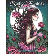 Mystical Fantasy Coloring Book: Coloring for Adults - Beautiful Fairies, Dragons, Unicorns, Mermaids and More!, Paperback/Molly Harrison