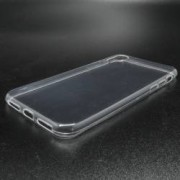 Pachet pentru Apple iPhone X Husa IMPORTGSM Silicon Ultra Slim Transparent + Folie Sticla securizata Transparenta