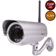Foscam FI9804W 1 Megapixel HD H.264 Wireless Waterproof con Filtro IR-Cut - 15 Metri e Lente da 2.8mm (70° Gradi)