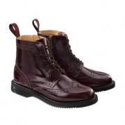 Dr. Martens Brogue Boots, 4 - Bordeaux