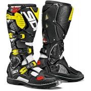 Sidi Crossfire 3 Motocross Boots Black Yellow 45