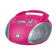 Grundig GRB 2000 - CD-Radio / USB - Pink/Silber