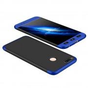 GKK 360 Protection telefon tok hátlap tok Első és hátsó tok telefon tok hátlap az egész testet fedő Xiaomi Mi A1 / Mi 5X fekete-blue