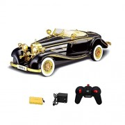 1:12 Scale Classic Racing Remote Controlled Model Car with Full Function(Black)