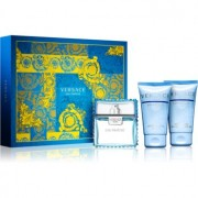 Versace Man Eau Fraîche lote de regalo VII. eau de toilette 50 ml + gel de ducha y baño 50 ml + bálsamo after shave 50 ml