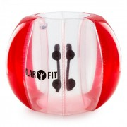 KLARFIT BUBBALL KR броня балон топка за футбол 120X150CM EN71P PVC червена (FITN4-Bubball AR)