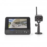 Nedis Draadloze Camera Set met netwerkfunctie 2.4 Ghz