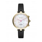 レディース KATE SPADE New York Holland Hybrid Smartwatch スマートウォッチ ブラック