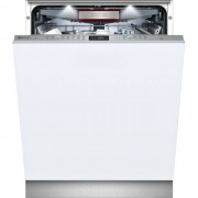 NEFF N70 S515T80D1G Fully Integrated Standard Dishwasher - Stainless Steel Control Panel with Fixed Door Fixing Kit - A+ Rated