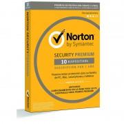 Symantec Norton Antivirus Premium 2018 10 Dispositivos 1 Ano