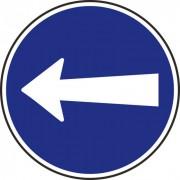 B2B Partner Dopravní značka – přikázaný směr jízdy zde vlevo