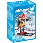 Playmobil - Family Fun - Biatlete 9287