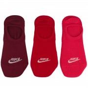 Sosete unisex Nike Sportswear 3 Pair Footie SX6014-904