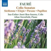 G. Faure - Cello Sonatas (0747313054572) (1 CD)