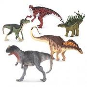 Terra by Battat Terra Small Series Dinosaurs, Multicolor