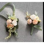 Set bratara si flori de pus in piept ARBC007