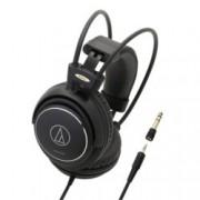 Слушалки Audio-Technica ATH-AVC500, 53мм говорители, 10-25kHz, 106 dB/mW, 3м кабел, 6.3мм адаптер, черни