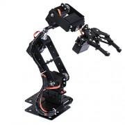 MagiDeal DIY Hot Smart 6-Dof Robot Mechanical Arm Servo Controlled for Arduino Learning Robotics Assembly Kits