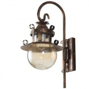 LeArc Designer Lighting Wrought Iron Rustic Finish Wall Light WL1976