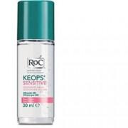 Johnson & Johnson Spa Roc Keops Deodorante Roll-On Pelle Fragile 30 Ml