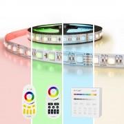 RGBW Premium led strip set met afstandsbediening 11 tot 20 meter