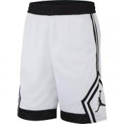 Nike Jordan Rise Diamond - pantalone corto basket - White/Black