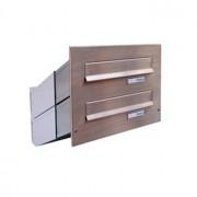Nerezová sestava schránky Dols, D-041 (1x2)