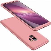Husa Samsung Galaxy S9 FullBody Elegance Luxury Rose-Gold 360 grade+folie de protectie gratis