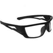 Zyaden Clear Wrap Around Sunglasses ( NV-43 )