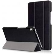 3-Vouw stand flip hoes Lenovo Tab 4 8 Plus zwart
