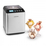 Klarstein VANILLY SKY FAMILY, машина за сладолед замразен йогурт 250W 2.5л, сребриста (TK49-VanillySkyFamS)