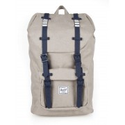 Herschel Little America Mid-Volume Backpack #10020 Polka Dot Crosshatch Peacoat
