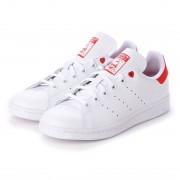 アディダス オリジナルス adidas Originals スタンスミス J STAN SMITH J (ホワイト/ホワイト/レッド) レディース