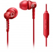 Audifonos P09-SHE3705RD/00 Phillips -Rojo