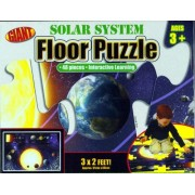 Giant Solar System 3 Floor Puzzle, 48 Extra Large Pieces For Easy Handling,(Ages 3 And Up)