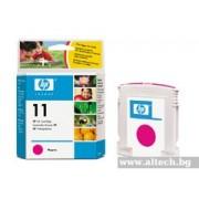 HP 11 Magenta Ink Cartridge, 28ml (C4837AE)