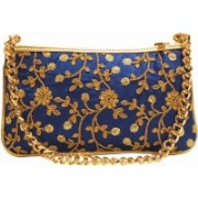 Mex Party Blue Clutch