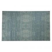 Miliboo Teppich Blau Grau Acryl-Baumwolle 155x230 SNAKE