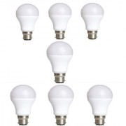 LED Bulb REBUY - B22 9-Watt LED Bulb (Pack of 7 Cool Day Light)