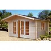 Caseta de madera Florence de 410x380 cm. para Jardín